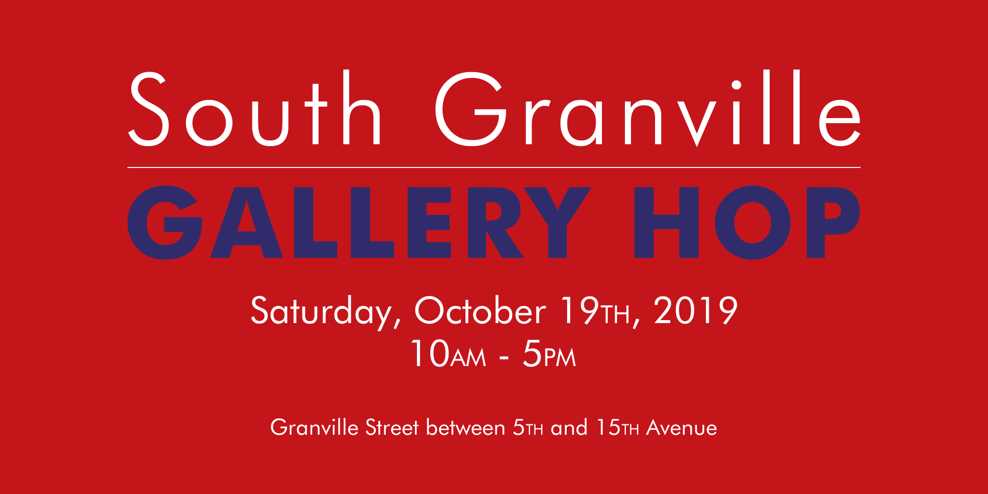 South Granville Gallery Hop, Vancouver